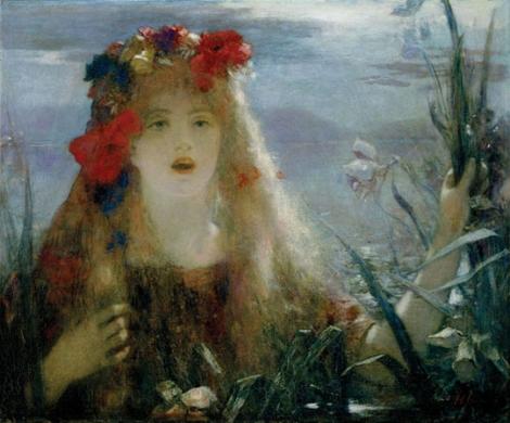 """""""Ophelia"""" de Henri Gervex"""