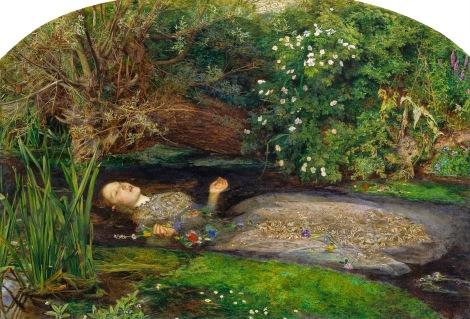 """Ophelia"" de John Everett Millais."