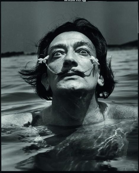 Salvador Dalí ©Jean Dieuzaide